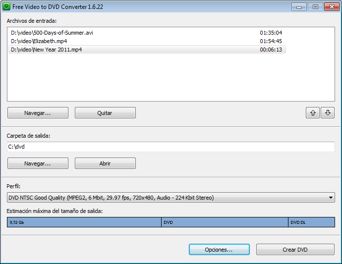 Free Video to DVD Converter