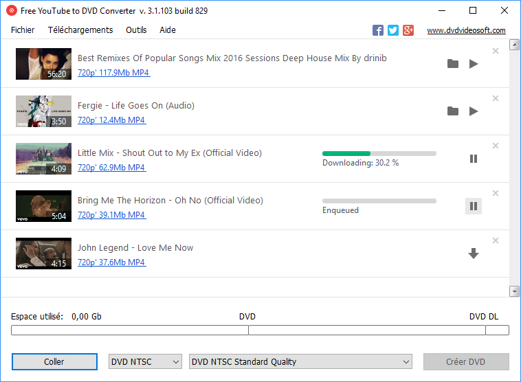 Free YouTube to DVD Converter