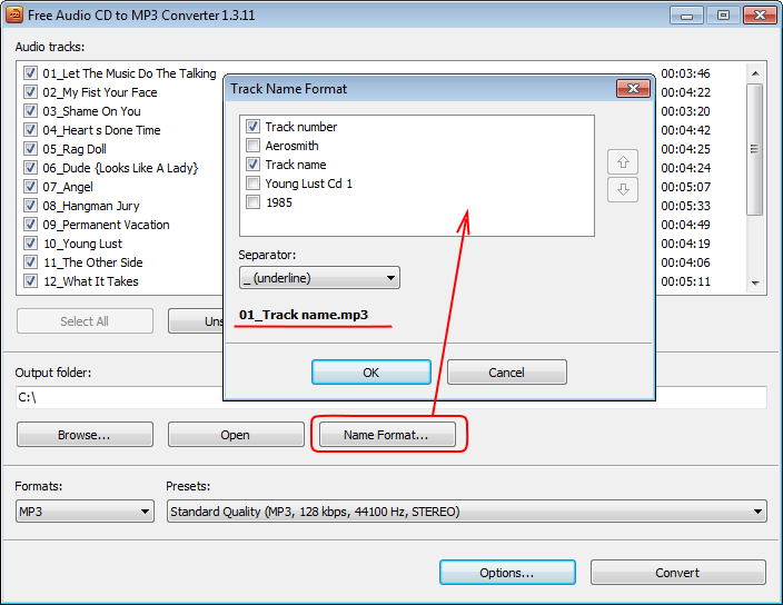 convert cd audio track to mp3 free download