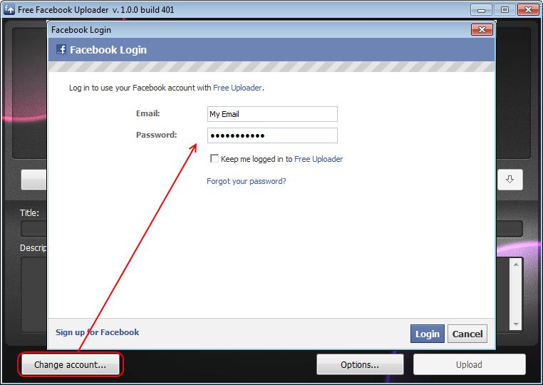 login facebook free