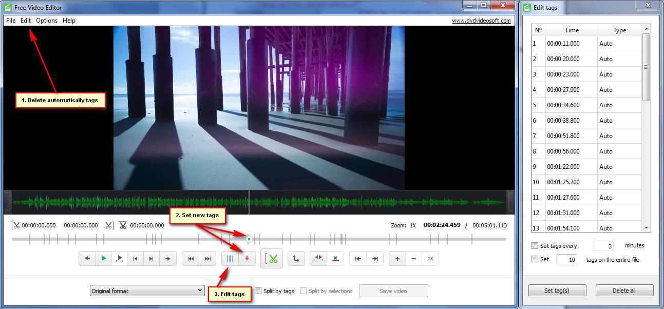تحرير الفيديو