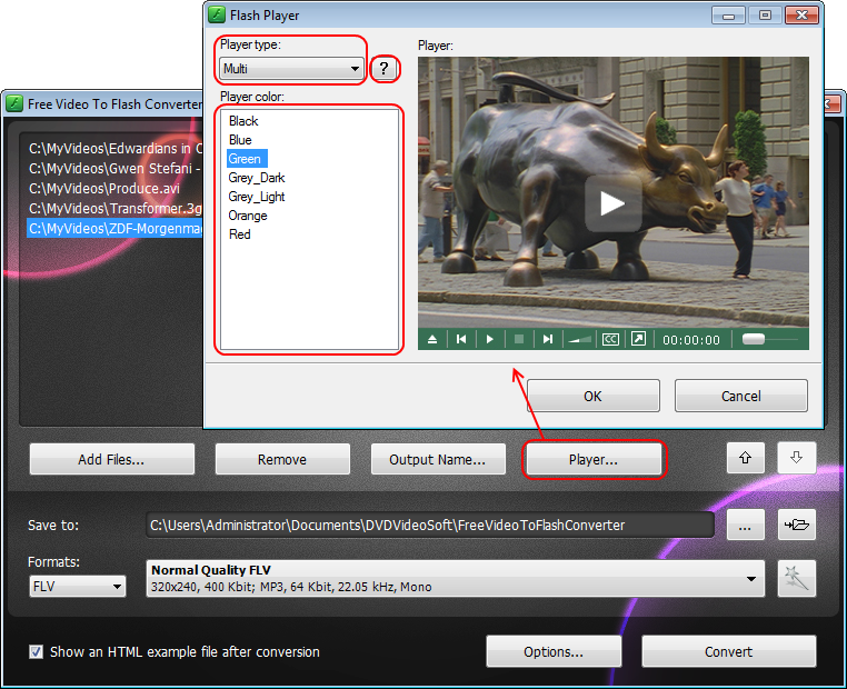 Convert Video To Flash Flv Or Swf Files