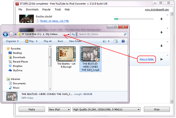 Free YouTube to iPod Converter: проверьте видео
