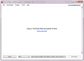 Free YouTube to MP3 Converter: Programm starten