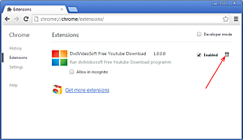 Enable Google Chrome Extension by DVDVideoSoft - Step by ...