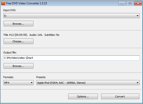free mp4 video converter offline installer