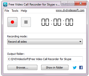 Click to view Free Video Call Recorder for Skype screenshots