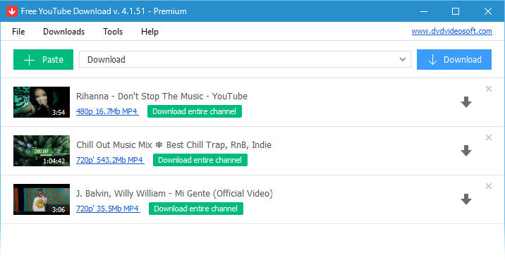 Run Free YouTube Download