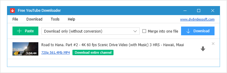 YouTube to MP4 1080p 60 fps Converter