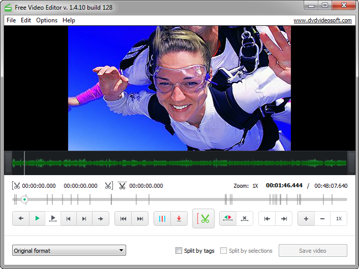 Click to view Free Video Editor screenshots