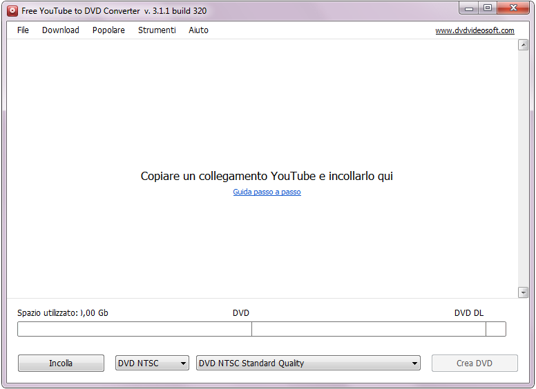video da youtube e masterizzare su dvd