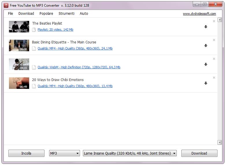 downloads converter mp3:
